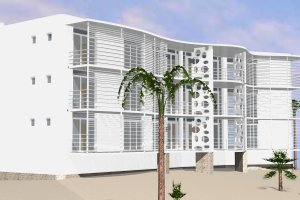 Contemporary Exterior - Front Elevation Plan #535-18