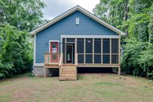Cottage Exterior - Rear Elevation Plan #430-95