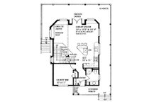 Cottage Floor Plan - Main Floor Plan Plan #118-170