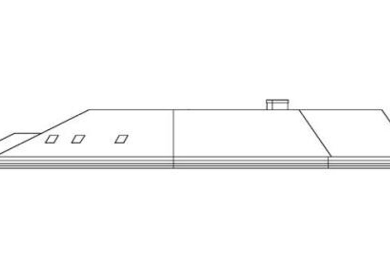 Contemporary Exterior - Rear Elevation Plan #60-641 - Houseplans.com