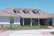 Ranch Style House Plan - 5 Beds 5.5 Baths 5068 Sq/Ft Plan #1-933 Exterior - Other Elevation