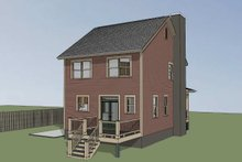 Dream House Plan - Country Exterior - Other Elevation Plan #79-173
