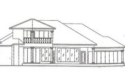 Mediterranean Style House Plan - 4 Beds 5 Baths 3873 Sq/Ft Plan #115-108