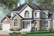 Farmhouse Style House Plan - 3 Beds 2.5 Baths 2130 Sq/Ft Plan #25-4220 Exterior - Front Elevation