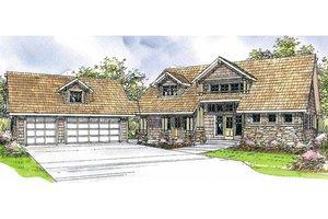 Craftsman Exterior - Front Elevation Plan #124-208