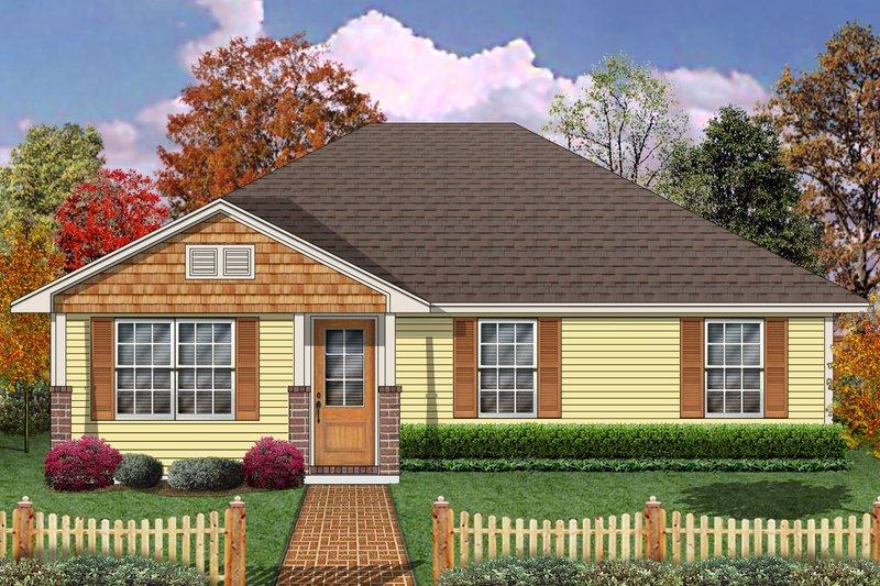 Home Plan - Craftsman Exterior - Front Elevation Plan #84-575
