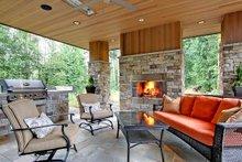 Modern Exterior - Outdoor Living Plan #132-221