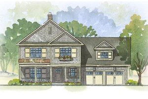 Farmhouse Exterior - Front Elevation Plan #901-51