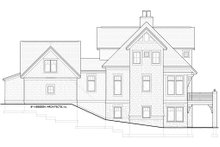 Dream House Plan - Traditional Exterior - Other Elevation Plan #928-11