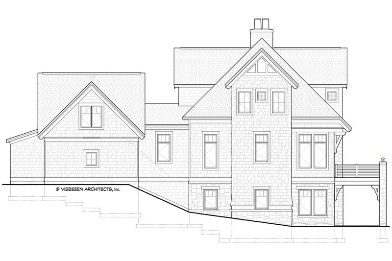 Traditional Exterior - Other Elevation Plan #928-11 - Houseplans.com