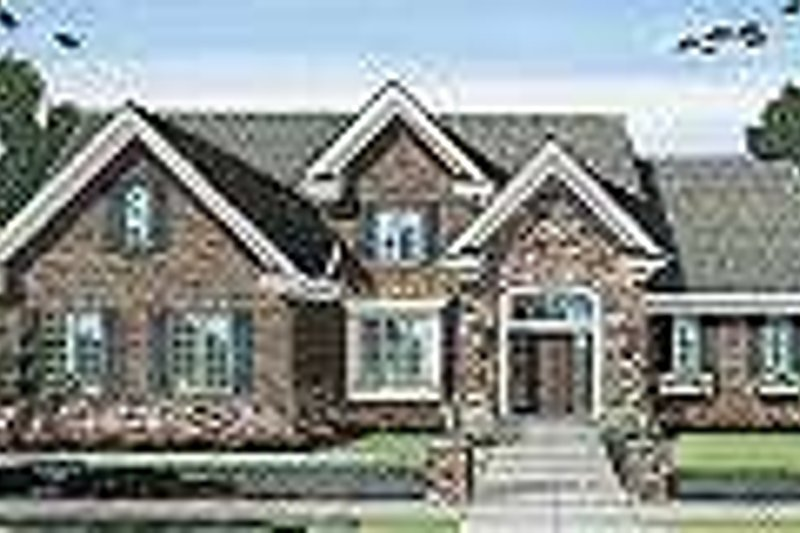 Traditional Exterior - Other Elevation Plan #46-401 - Houseplans.com
