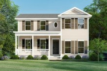 Farmhouse Exterior - Front Elevation Plan #923-158