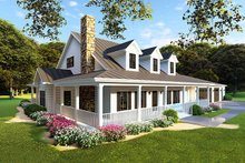 Home Plan - Left Front