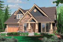 House Plan Design - Front View - 2300 square foot Traditional home