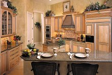 Mediterranean Interior - Kitchen Plan #930-291