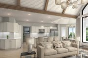 Farmhouse Style House Plan - 4 Beds 4.5 Baths 3954 Sq/Ft Plan #54-390 Interior - Family Room