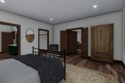 Cabin Style House Plan - 3 Beds 2.5 Baths 2418 Sq/Ft Plan #1060-24 Interior - Master Bedroom
