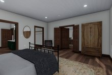 House Design - Cabin Interior - Master Bedroom Plan #1060-24