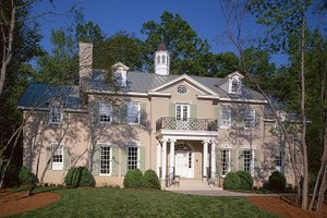 Colonial Exterior - Front Elevation Plan #137-230