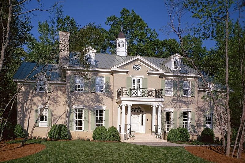 Colonial Exterior - Front Elevation Plan #137-230 - Houseplans.com