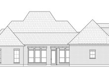 Architectural House Design - Southern Exterior - Rear Elevation Plan #1074-34