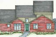 Traditional Style House Plan - 3 Beds 2.5 Baths 2500 Sq/Ft Plan #136-102
