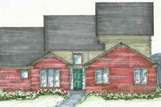 Traditional Exterior - Front Elevation Plan #136-102