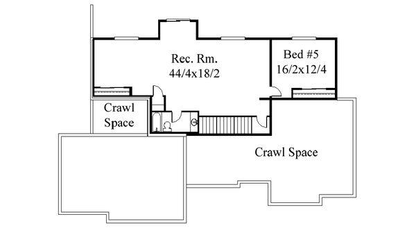 Traditional Floor Plan - Other Floor Plan Plan #509-72