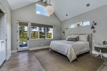 House Plan Design - Contemporary Interior - Master Bedroom Plan #892-21