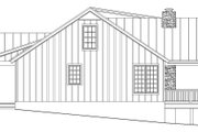 Cabin Style House Plan - 2 Beds 2 Baths 2033 Sq/Ft Plan #932-123 Exterior - Other Elevation
