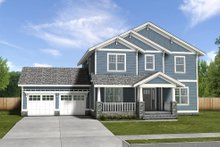 Dream House Plan - Traditional Exterior - Front Elevation Plan #497-20