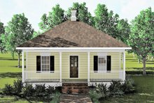 Dream House Plan - Cottage Exterior - Front Elevation Plan #44-130