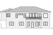 House Plan - 5 Beds 3 Baths 2955 Sq/Ft Plan #24-261 Exterior - Rear Elevation
