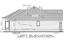 Dream House Plan - Craftsman Exterior - Other Elevation Plan #20-2115