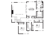 Contemporary Style House Plan - 4 Beds 3 Baths 2873 Sq/Ft Plan #48-706 Floor Plan - Upper Floor Plan