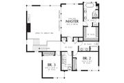 Contemporary Style House Plan - 4 Beds 3 Baths 2873 Sq/Ft Plan #48-706 Floor Plan - Upper Floor