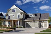 Traditional Style House Plan - 5 Beds 3.5 Baths 3330 Sq/Ft Plan #51-454 Exterior - Other Elevation