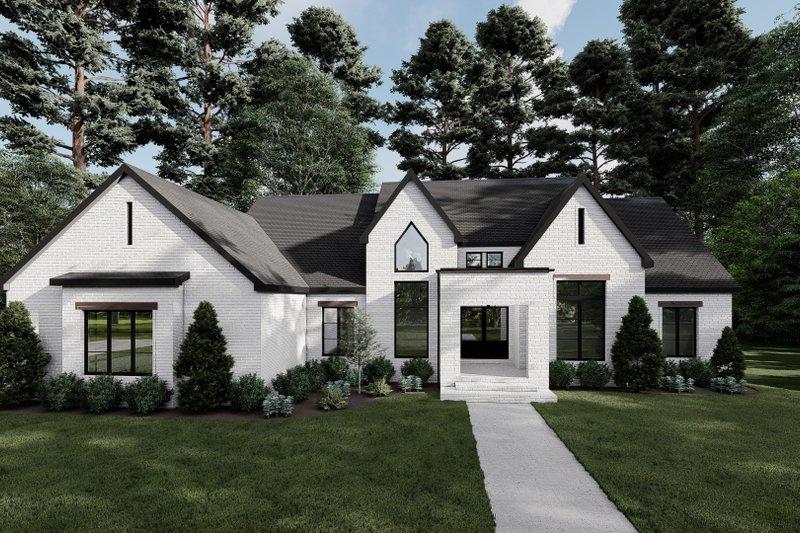 House Plan Design - Modern Exterior - Front Elevation Plan #923-214