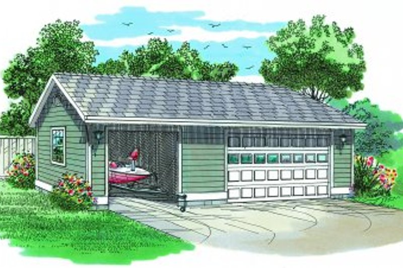 House Plan Design - Traditional Exterior - Front Elevation Plan #47-500