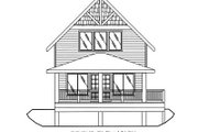 Bungalow Style House Plan - 1 Beds 1 Baths 1140 Sq/Ft Plan #117-543 Exterior - Other Elevation