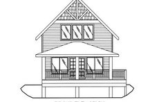 Home Plan - Bungalow Exterior - Other Elevation Plan #117-543