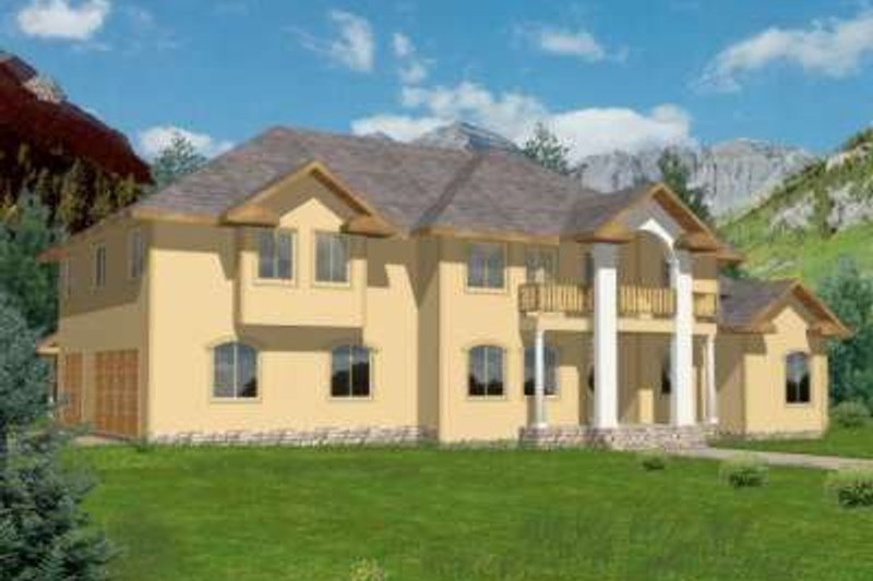 Traditional Exterior - Front Elevation Plan #117-471