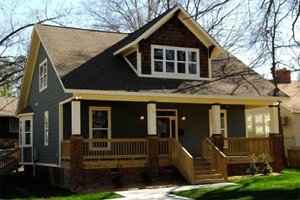 Craftsman Exterior - Front Elevation Plan #79-234