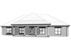Traditional Exterior - Front Elevation Plan #63-227