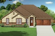 Traditional Style House Plan - 3 Beds 2 Baths 2140 Sq/Ft Plan #84-627 Exterior - Front Elevation