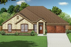 Traditional Exterior - Front Elevation Plan #84-627