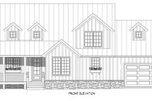 House Plan Design - Country Exterior - Front Elevation Plan #932-258