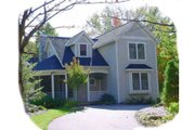 Traditional Style House Plan - 3 Beds 2 Baths 1306 Sq/Ft Plan #49-102