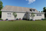 Farmhouse Style House Plan - 3 Beds 4 Baths 2593 Sq/Ft Plan #1069-19 Exterior - Other Elevation