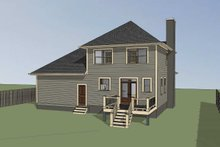 Southern Exterior - Other Elevation Plan #79-168